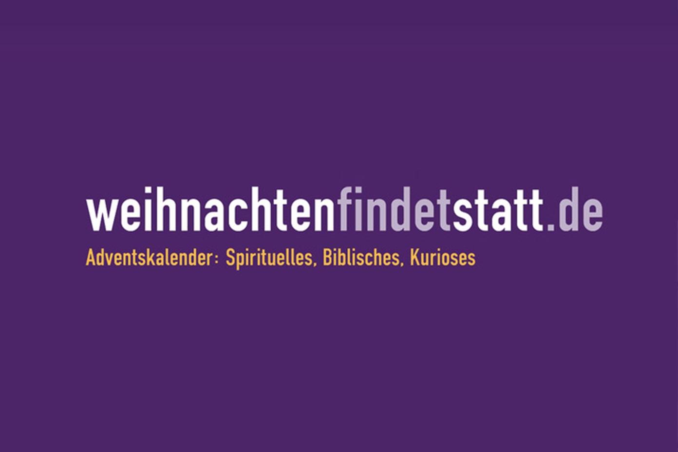 Logo WeihnachtenFindetStatt.de